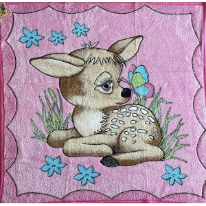 Dětská deka růžová KOLOUŠEK